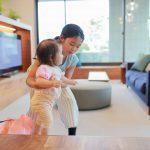 テレビ台 赤ちゃん