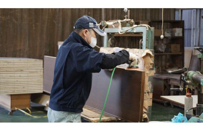 こもれび家具の製造工程