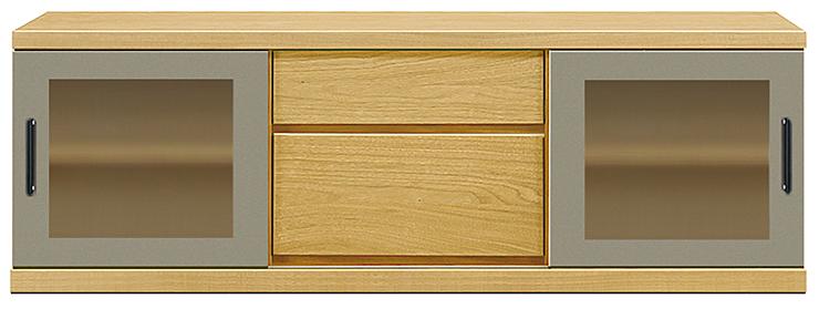 【オーダー家具テレビ台】幅150アーザ:タモ(ロータイプ・ローボード・スピーカー置き・AVボード・壁寄せタイプ・テレビ台・シンプル・北欧・モダン・スタイリッシュ・和風・完成品・リビング・おしゃれ)