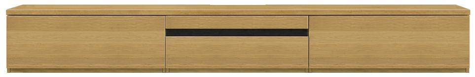【天然木の290ローボード WONA】幅290ルーア:オークナチュラル(壁寄せタイプ・テレビ台・シンプル・北欧・モダン・スタイリッシュ・和風・完成品・リビング・おしゃれ)